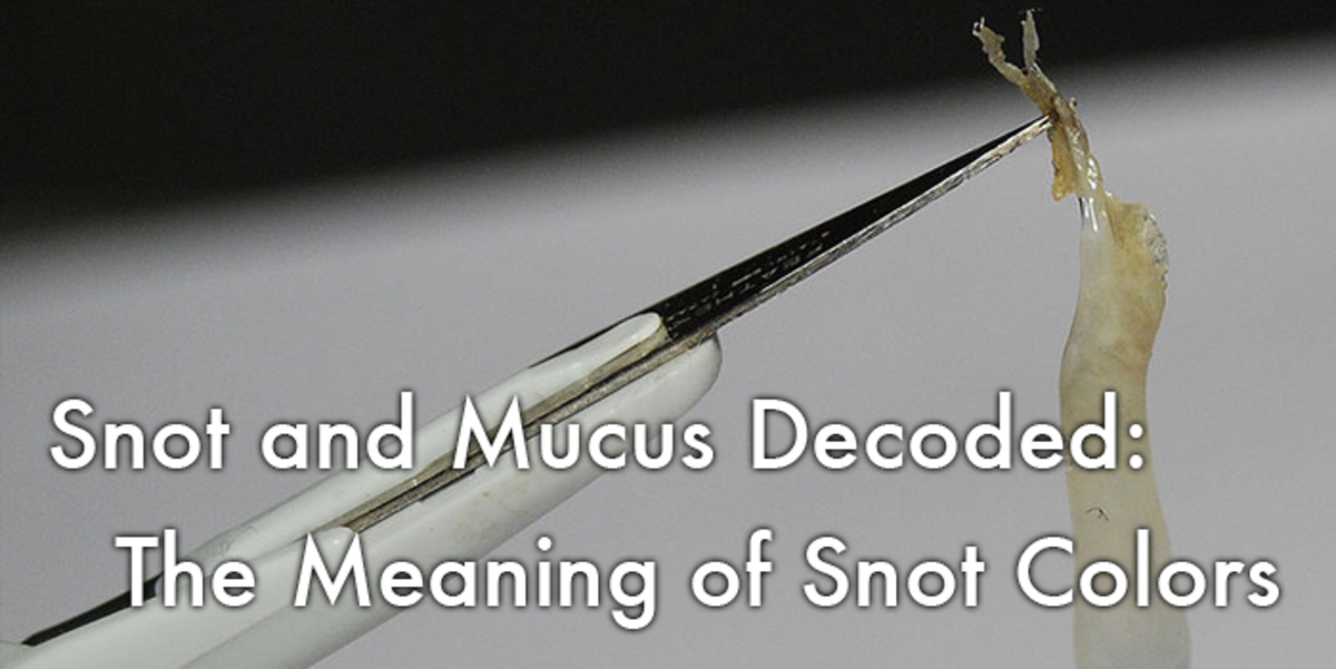 Snot and Mucus Decoded: The Meaning of Snot Colors