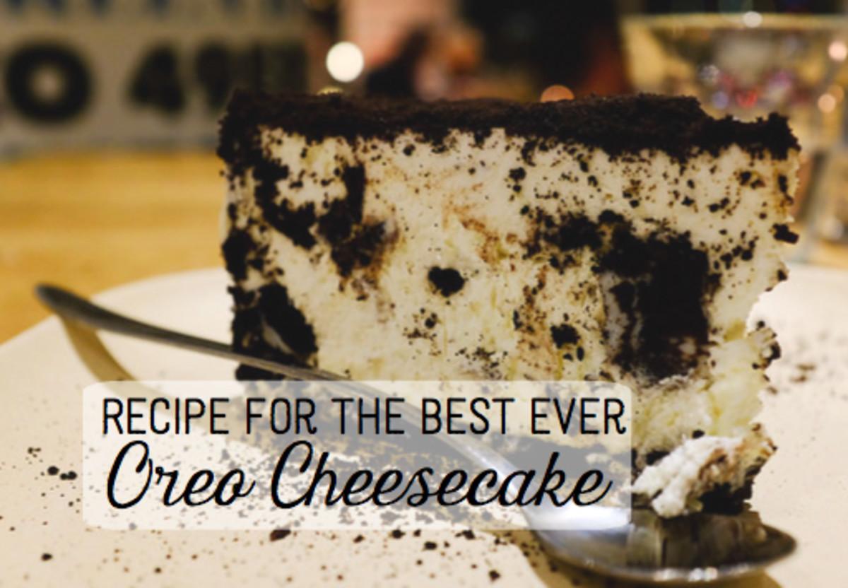 The Best Oreo Cheesecake Recipe Delishably