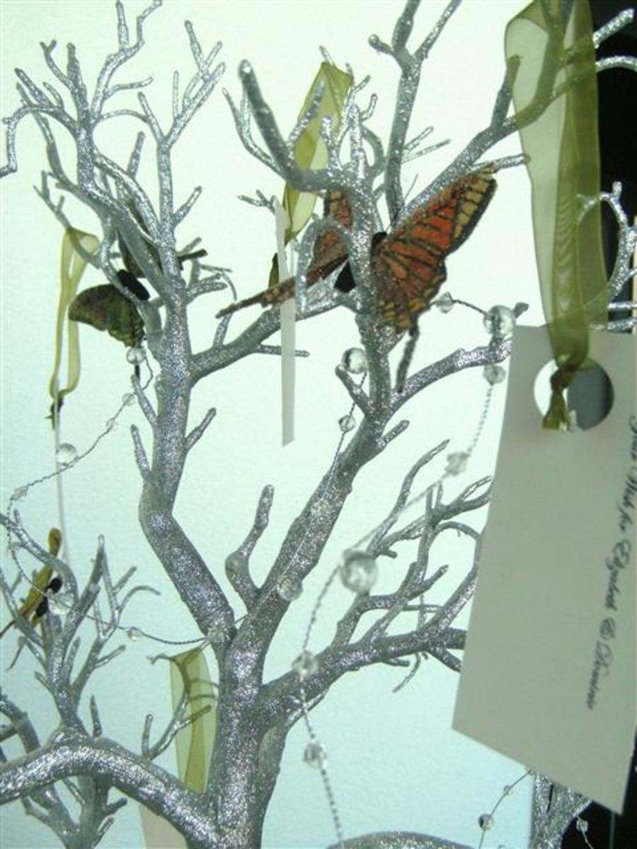 Ideas for Wedding Wish Trees Instead of Guest Books