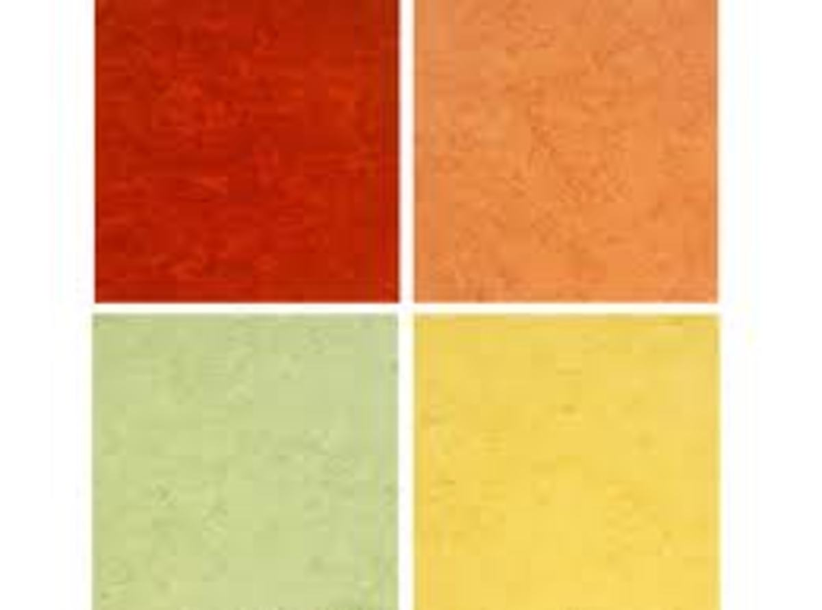 Linoleum is available in colors, and also patterns.