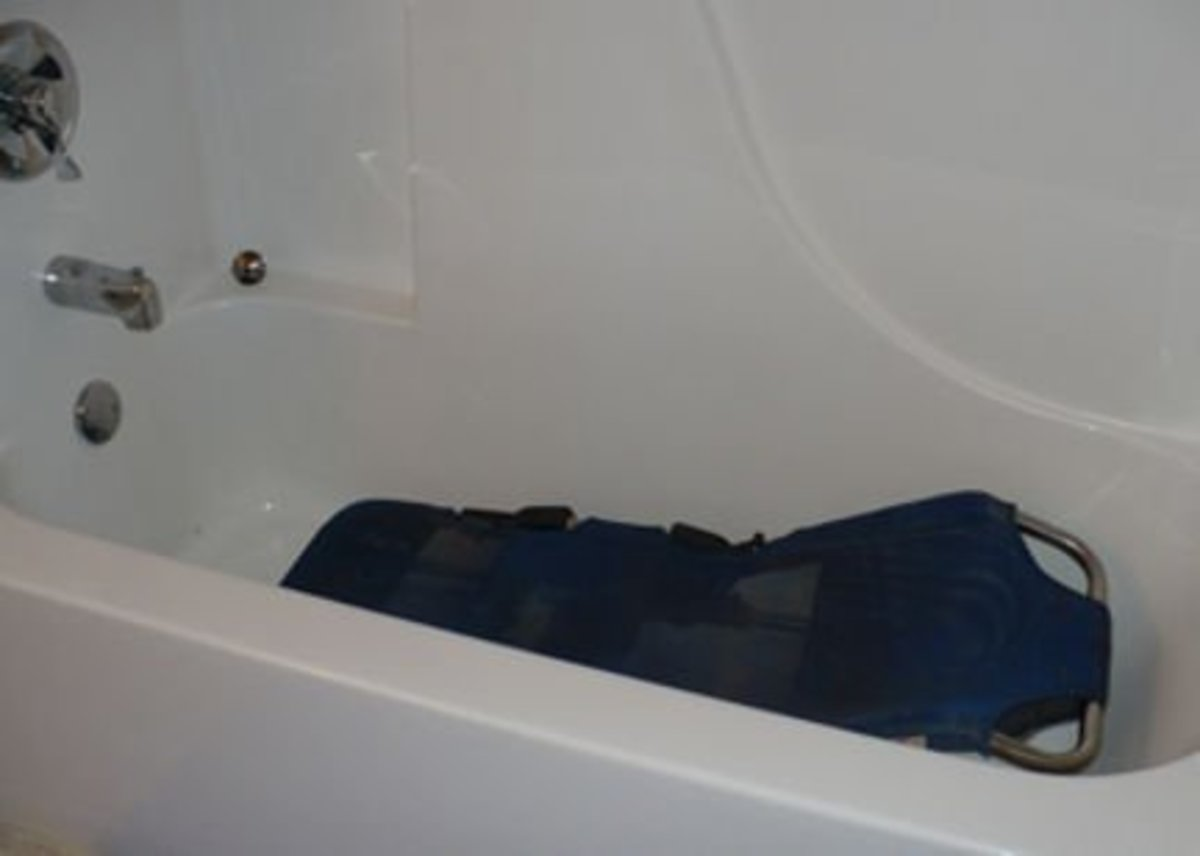 Bath chair Photo by: Cari Bousfield