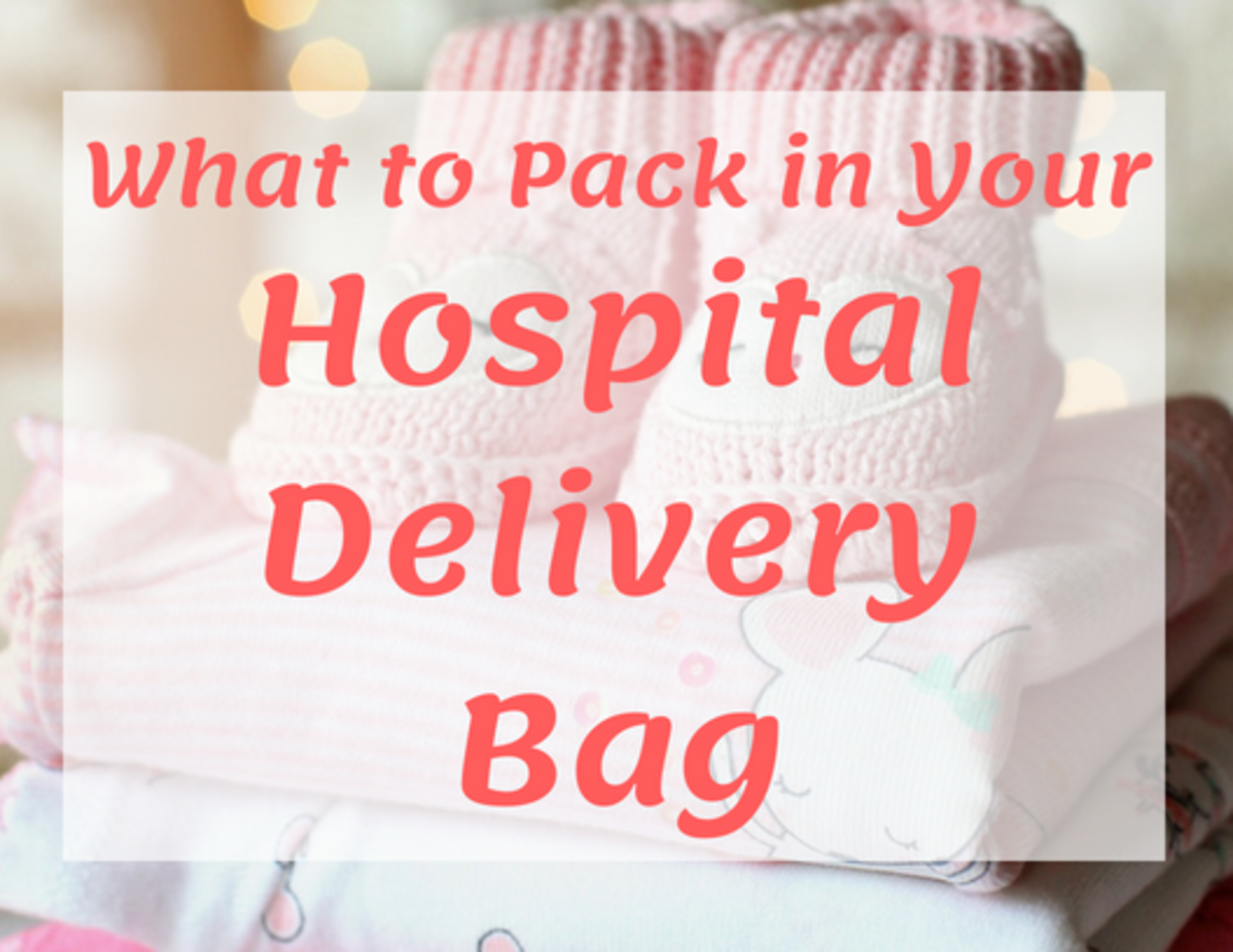 It's important to have everything you need packed and ready to go when you go into labour.