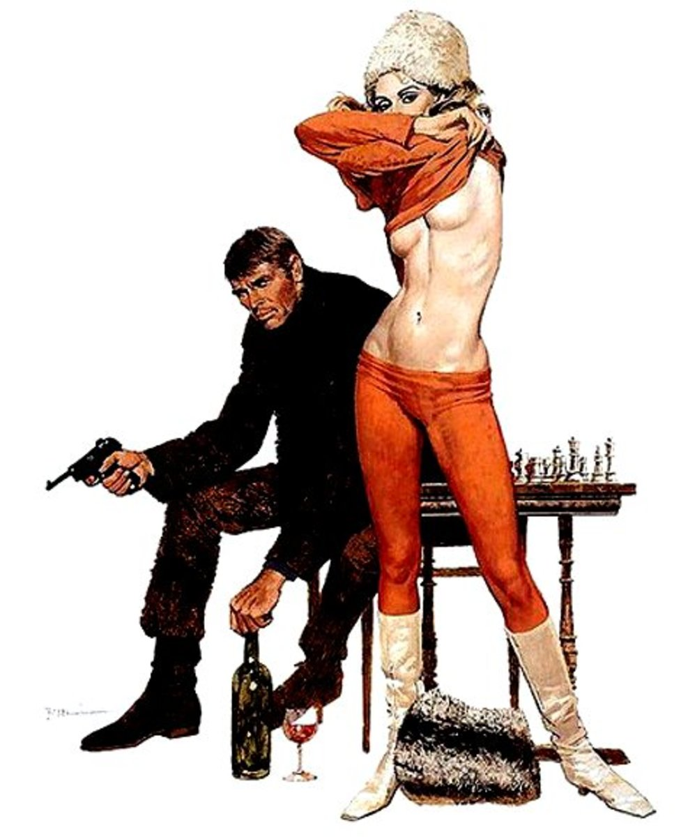 Art of Robert McGinnis: Guns, Dolls & Gangsters Molls