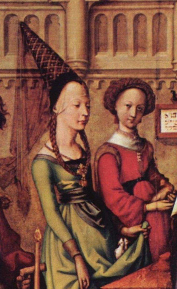 中世纪晚期的时尚史—中世纪服装