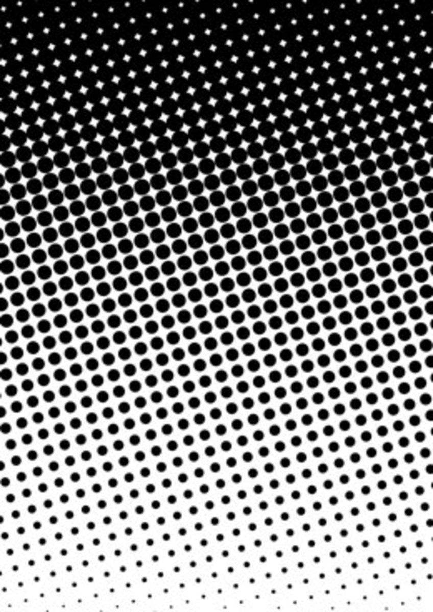 Example of a halftone