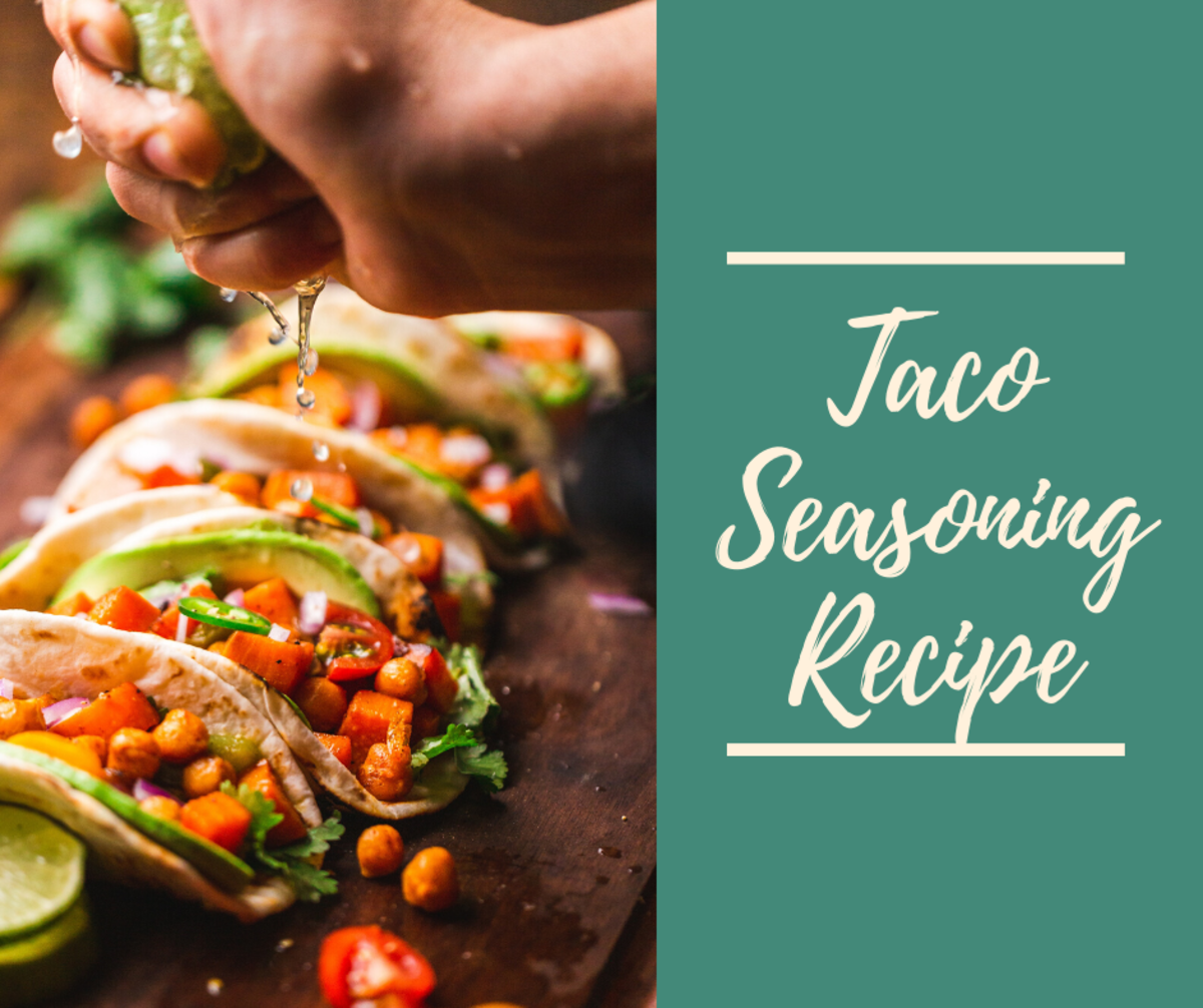 This taco seasoning is delicious and easy to make.