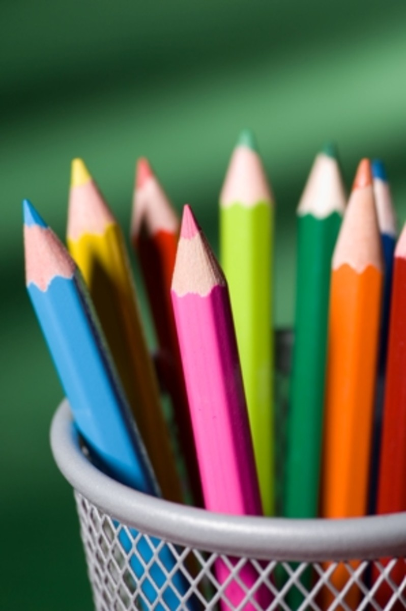 How you choose to color your life is up to you.