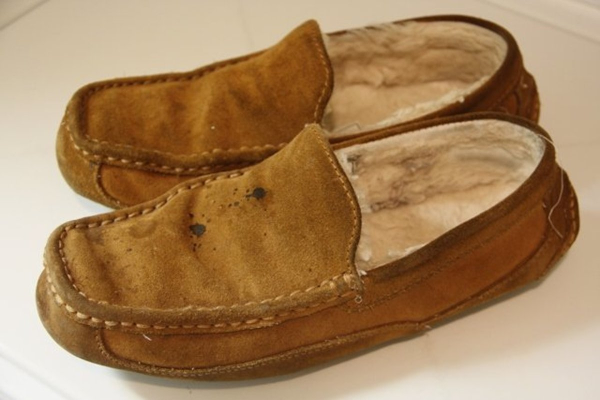 3da988ad533 How to Clean Suede and Sheepskin Slippers