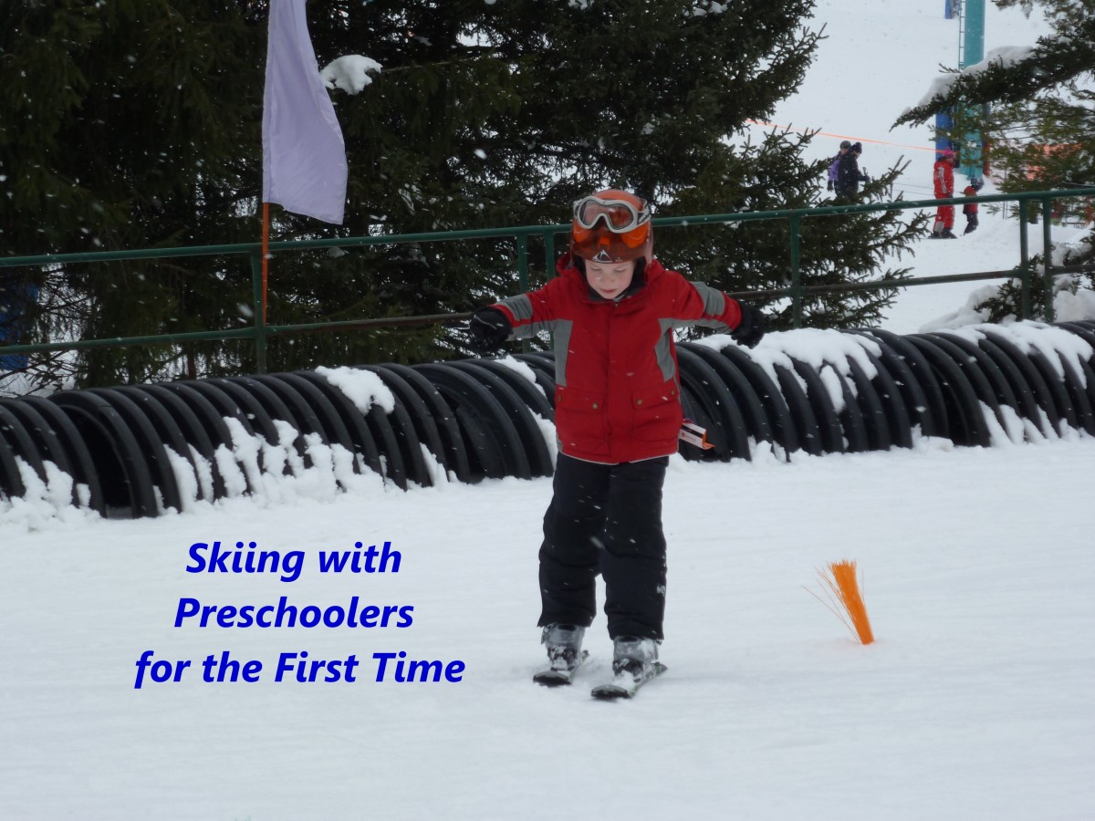 Skiing With Preschoolers for the First Time
