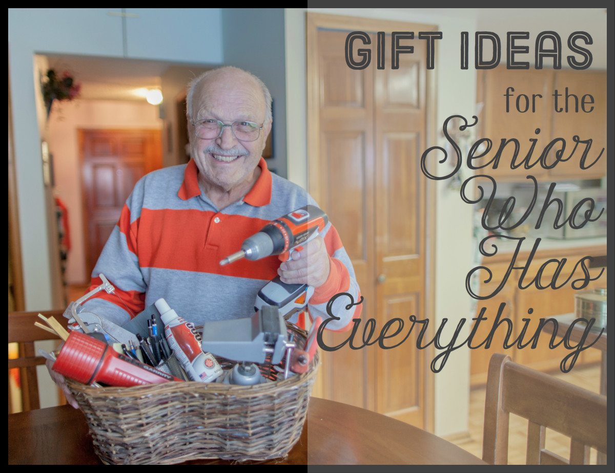 The senior on your gift list may already have what they want. Consider giving them a hobby basket, loaded with what they need for their favorite pastime.