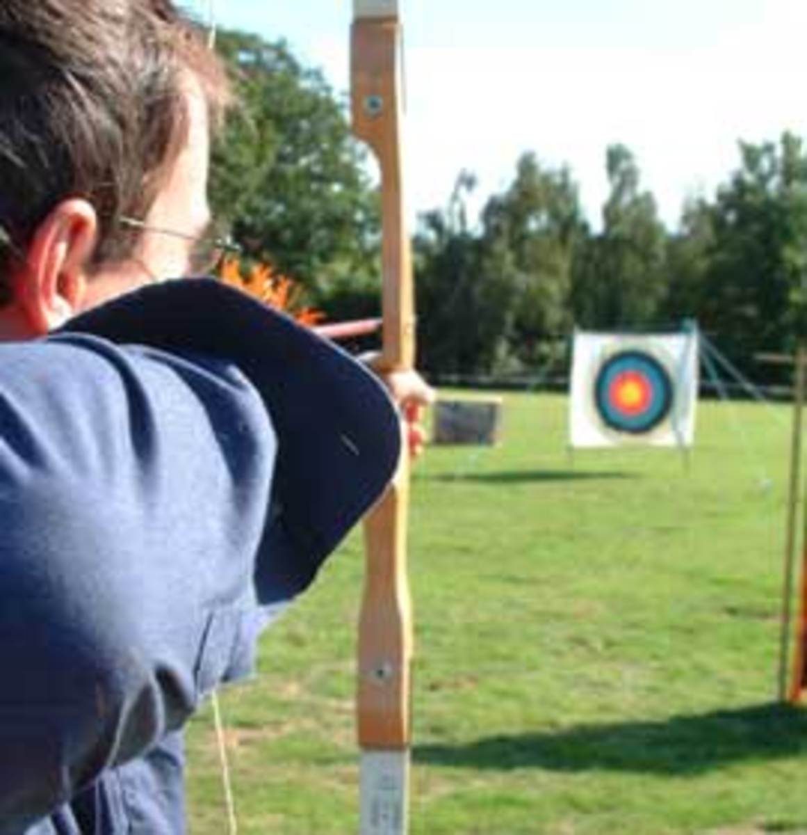 The skill of archery is a wonderful way to learn focus and how to quiet the mind - even after a hard days work.