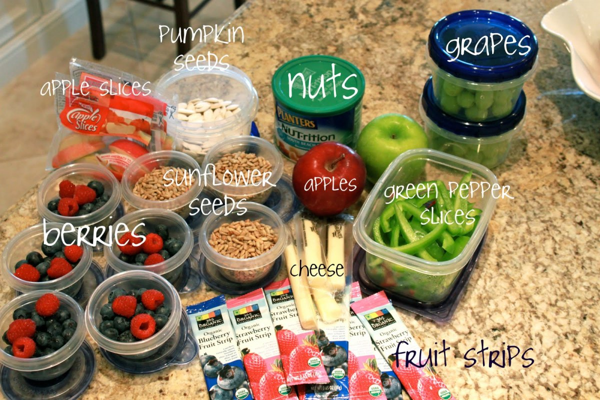 how to pack food for travel