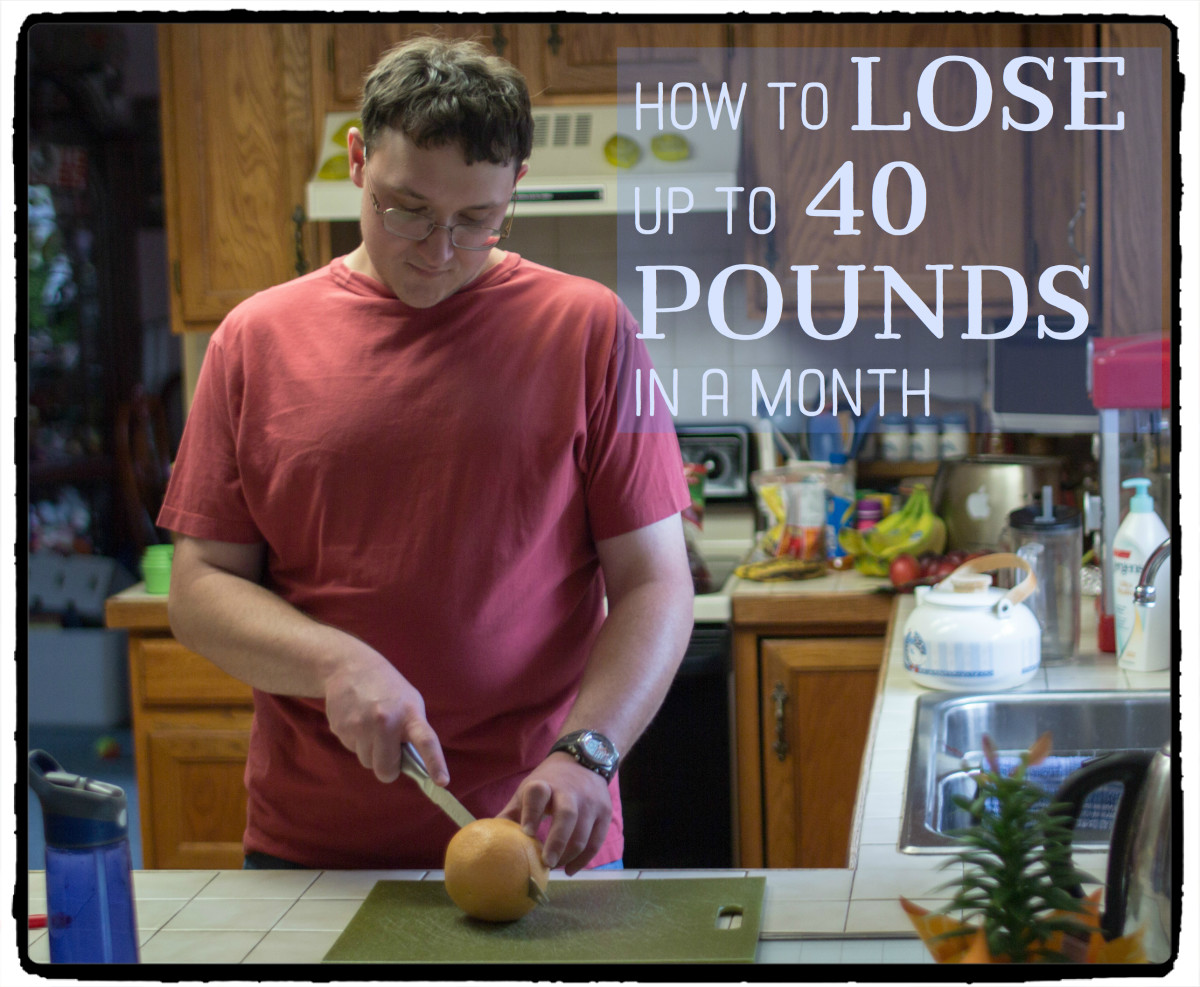 How To Lose 40 Pounds In 30 Days