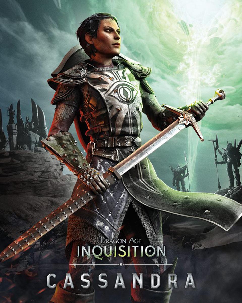 Cassandra's promotional art.