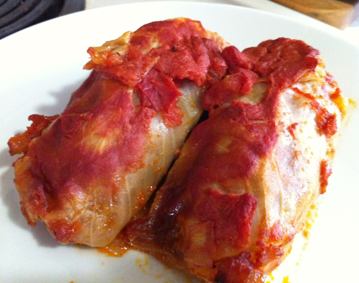 Easy Cabbage Rolls Recipe