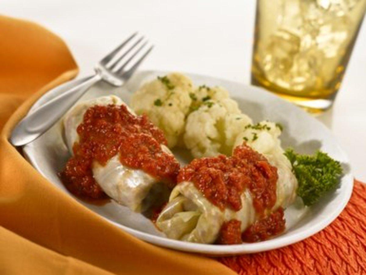 Romanian-Style Cabbage Rolls