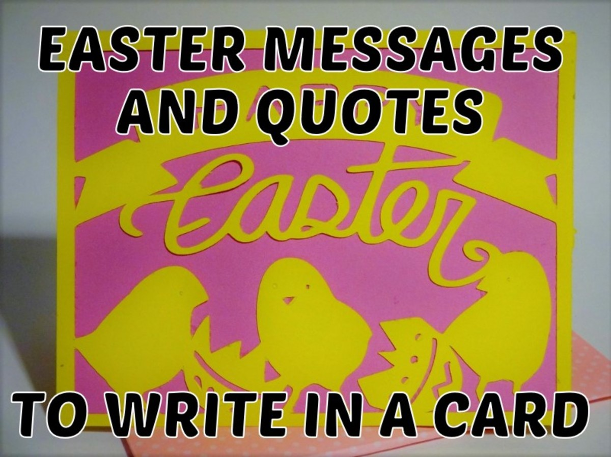 Easter Messages and Quotes to Write in a Card