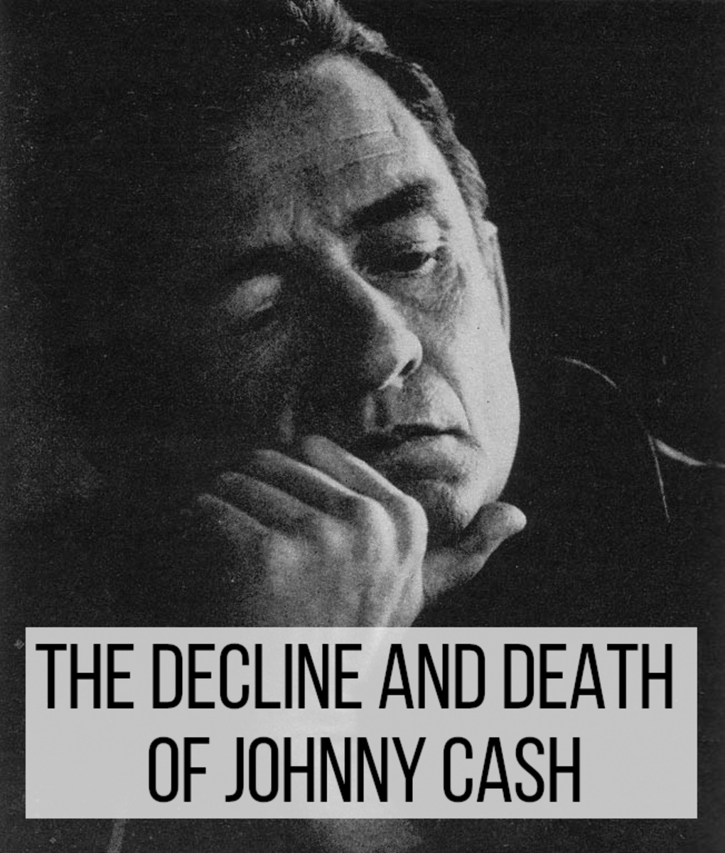 Cash was an icon of 20th century music.  His life was full of tribulations, however, both emotional and physical.  A combination of heartbreak and physical conditions would eventually lead to his death.
