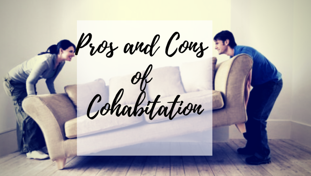 Cohabitation reasons against pros and