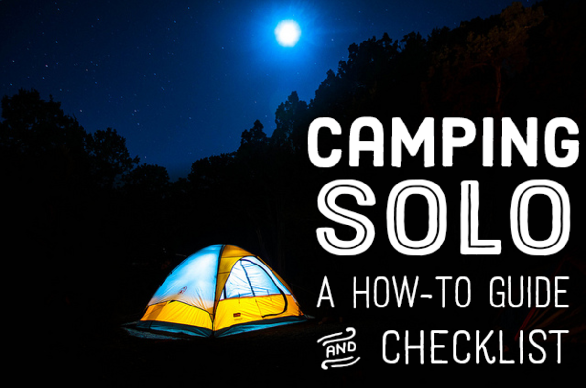 A how-to guide and checklist for camping solo.