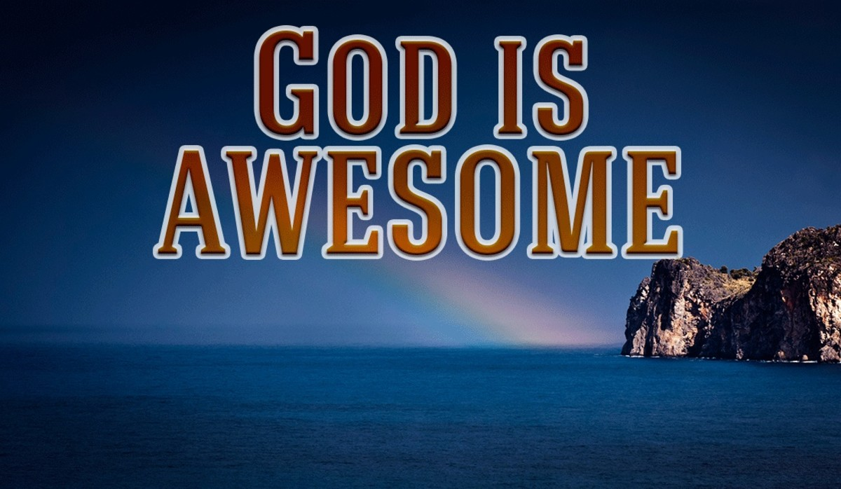 God is awesome.