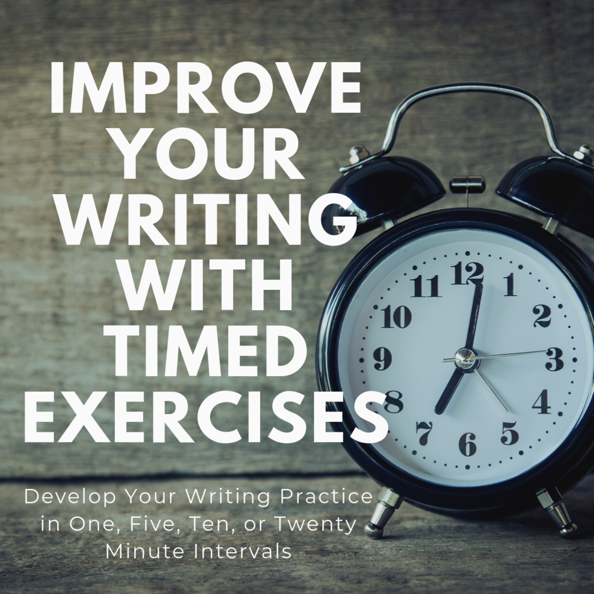 Timed Writing Exercises to Improve Your Writing