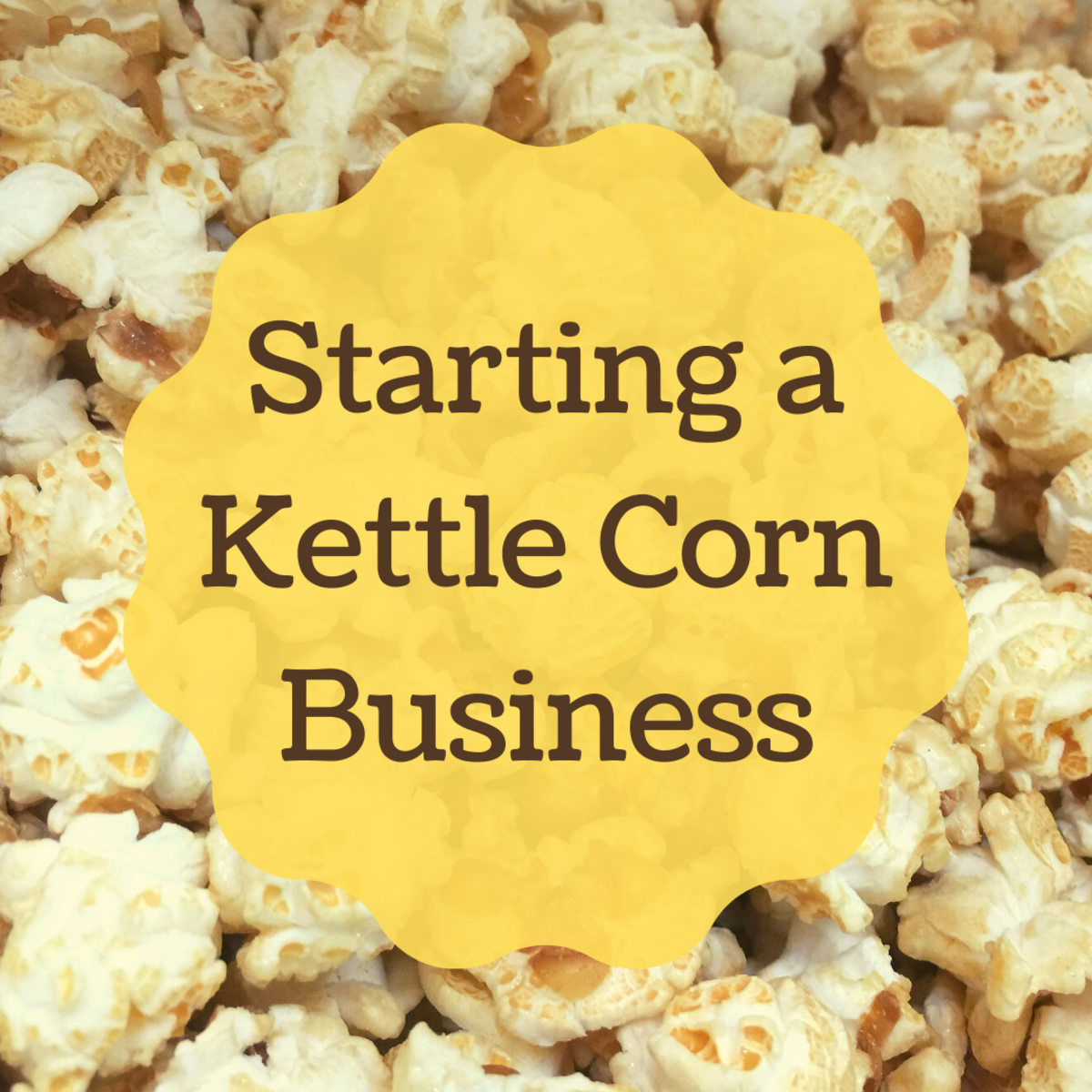 Selling kettle corn can be a profitable business venture.