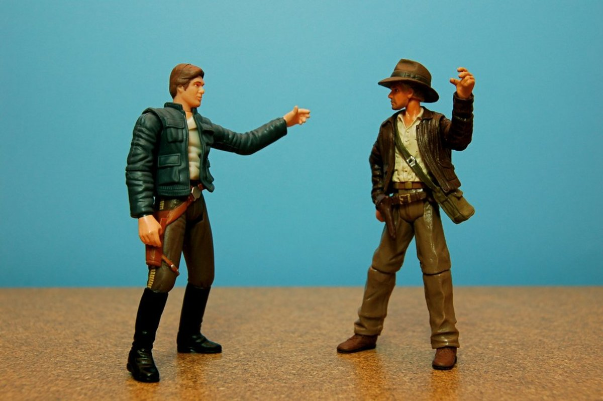 Han Solo and Indiana Jones FTW!