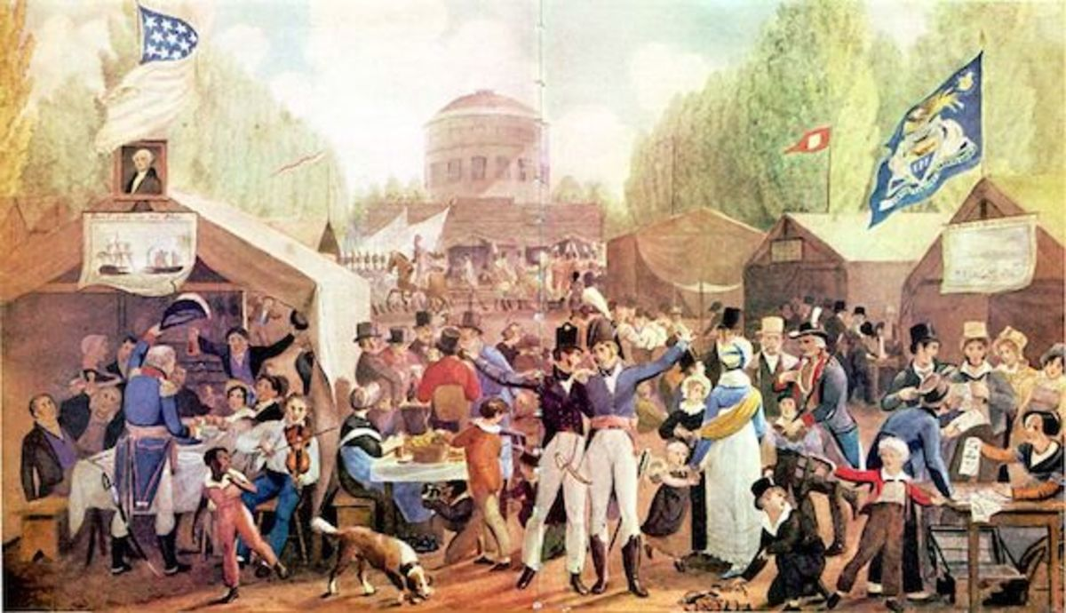 4th of July, 1819, Philadelphia—John Lewis Krimmel