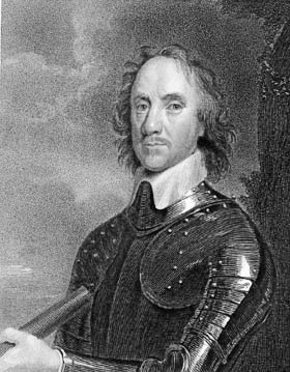 Oliver Cromwell, 17th Century