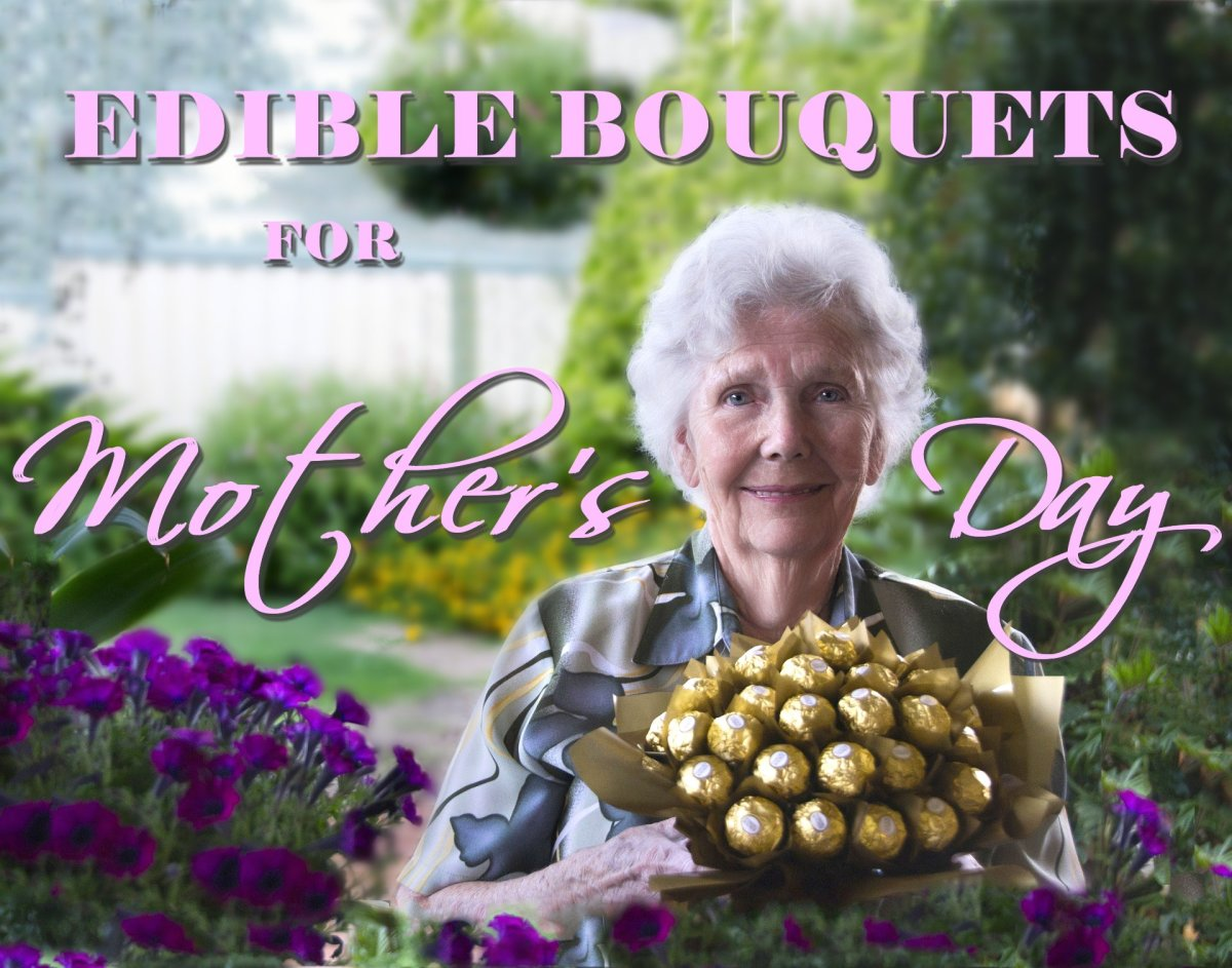 Give mom an edible bouquet for Mother's Day.