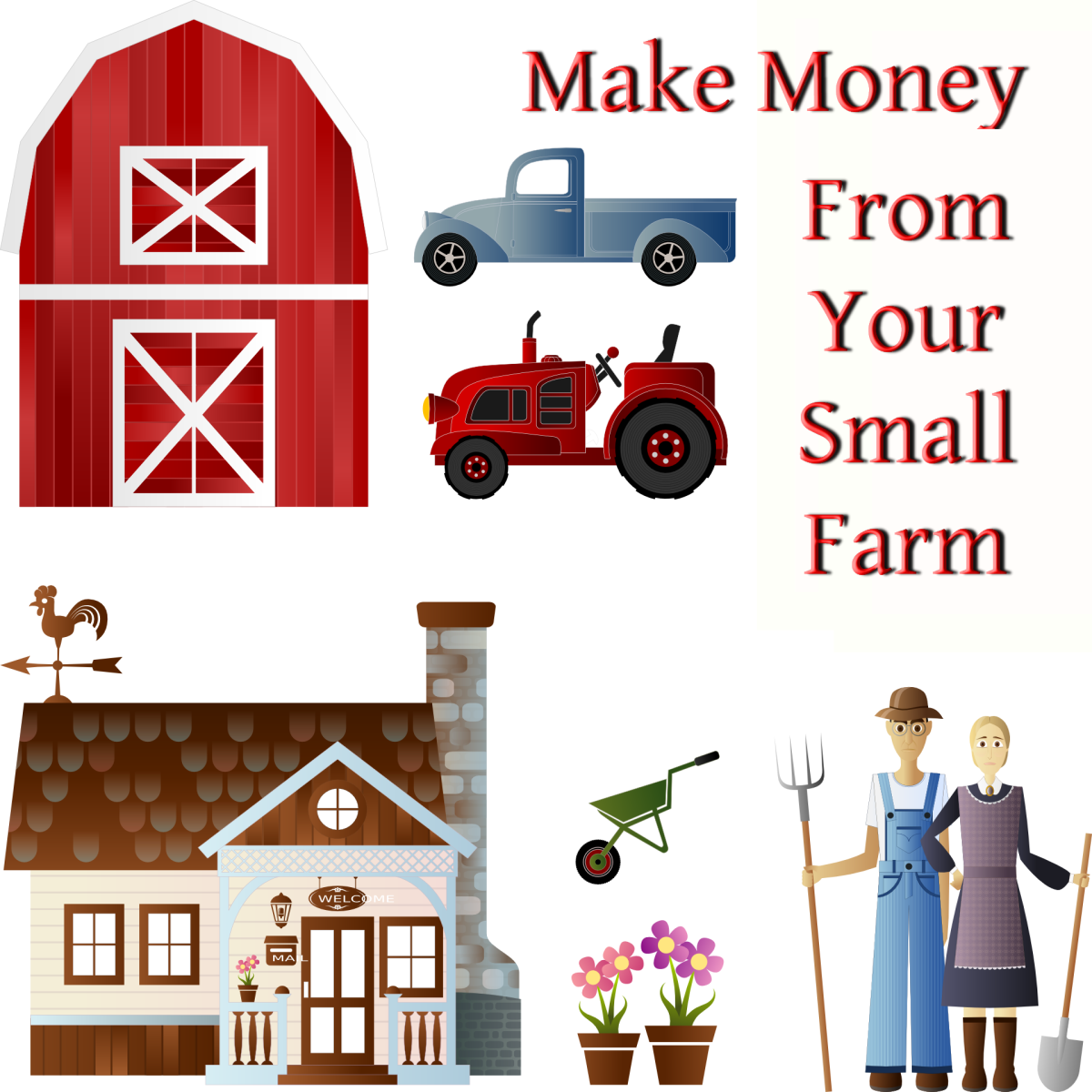 27 Ways to Make Money From Your Small Farm | ToughNickel