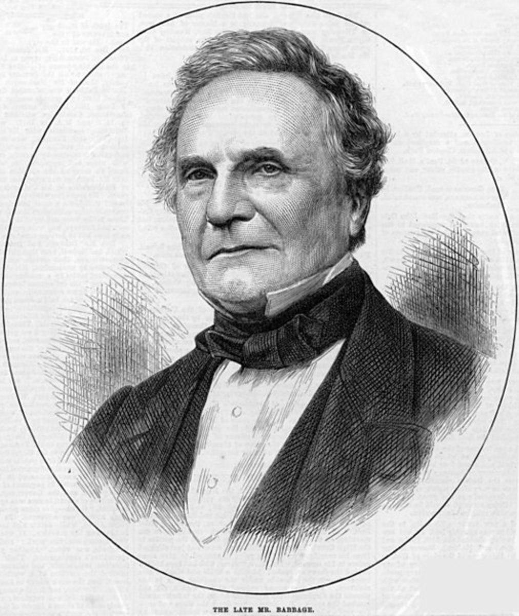 Charles Babbage c. 1860.