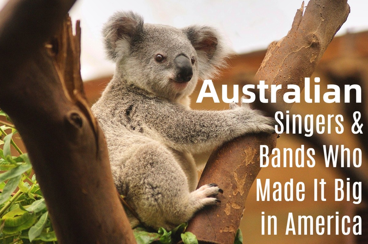 Australia has given the world koalas, kangaroos, Vegemite, and great popular musicians. How many singers and bands from the land down under can you name?