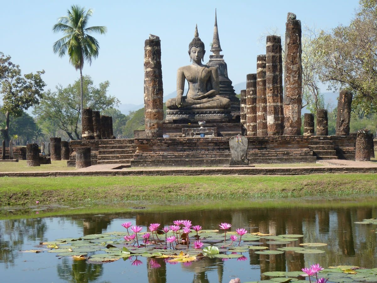 The History of the Kingdom of Sukhothai, Thailand