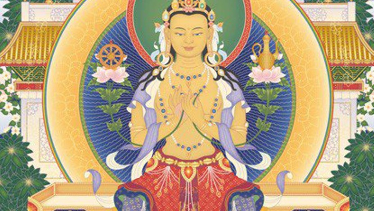 Qualities of the 8 Great Bodhisattvas