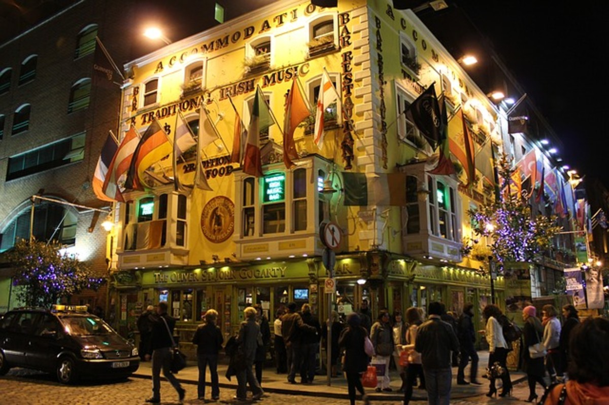 Get some ideas for great places to eat when traveling in Dublin.