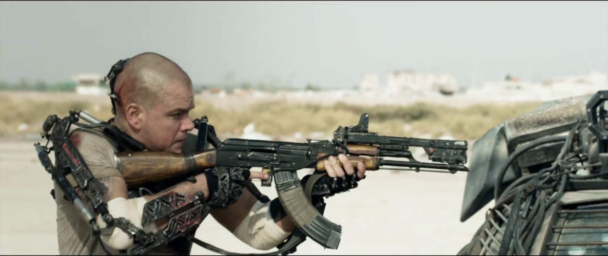 The Immigration Space Travel Ban: 'Elysium' Review