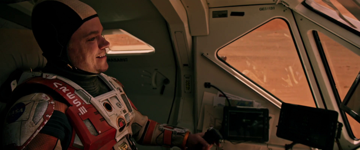 'The Martian' - A Cleverly Disguised Sci-Fi