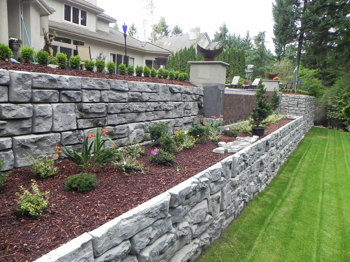 How To Build A Dry Stack Stone Retaining Wall The Right Way