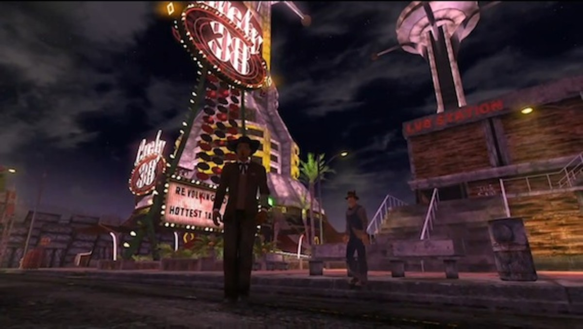 How to get to The Strip directly from Goodsprings on Fallout: New Vegas