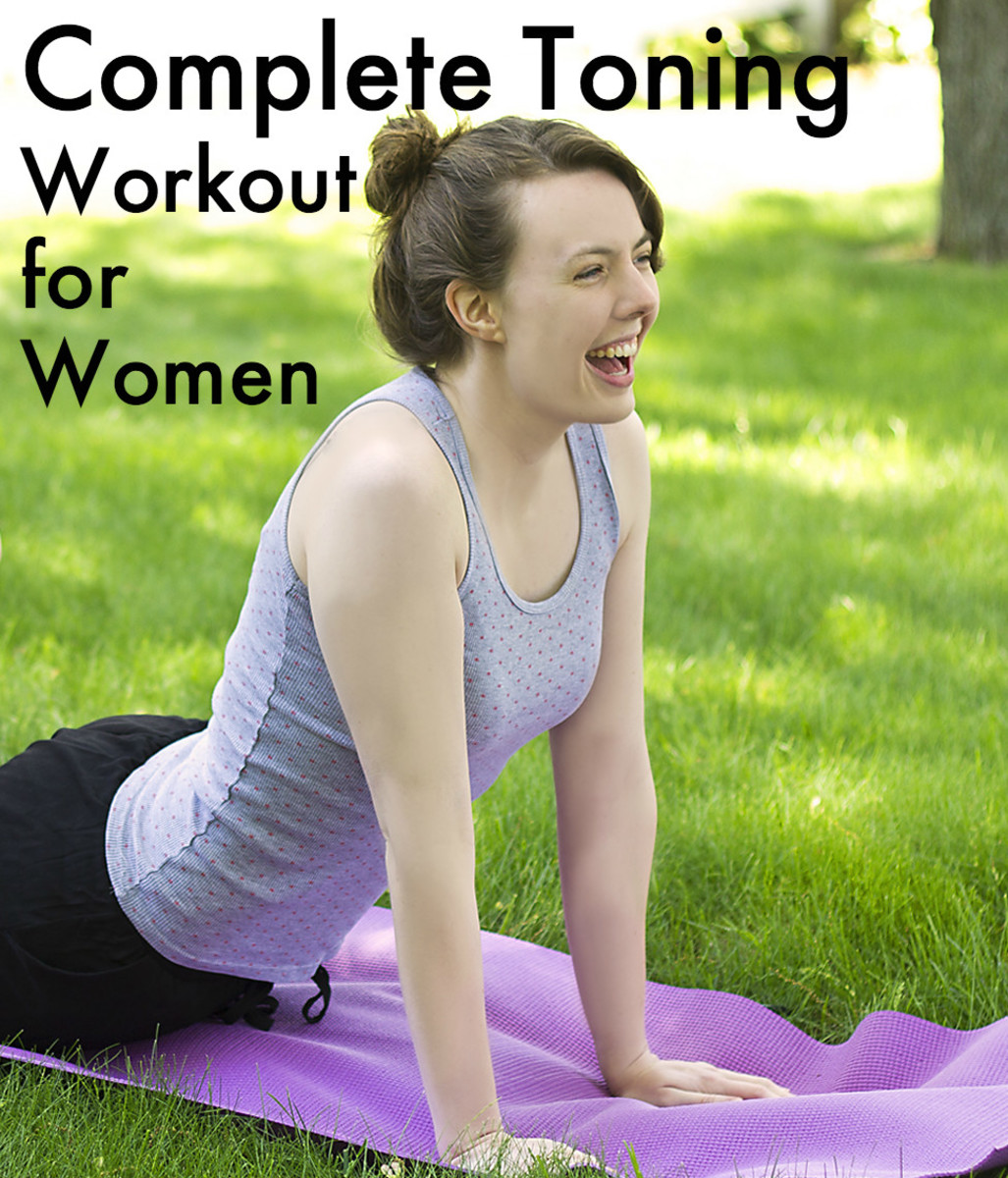 d96ff2bc83b70 Toning Exercises for Women: Complete Workout Plan for Beginners | CalorieBee