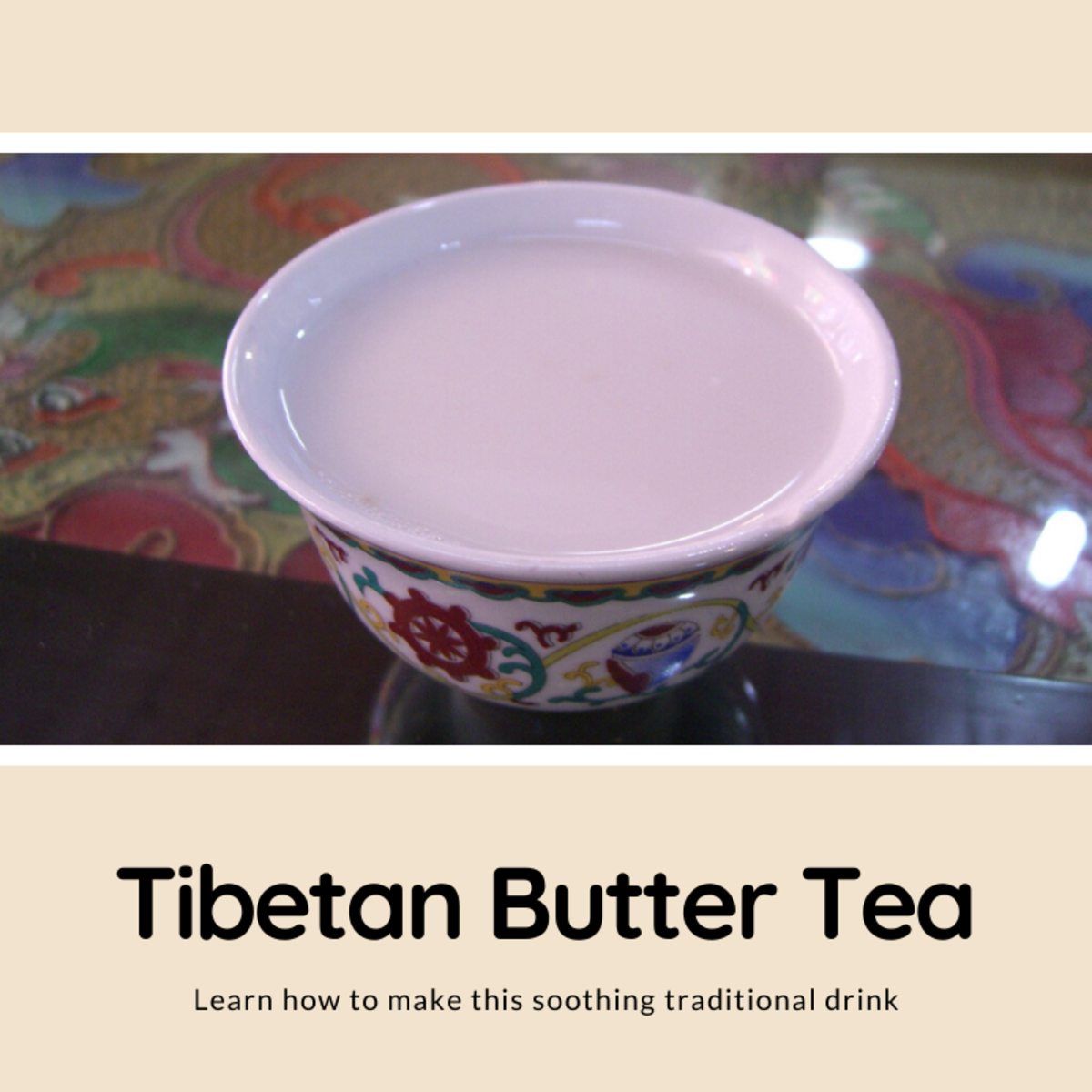 This article will show you how to make Tibetan butter tea, a warm, buttery, and salty drink.