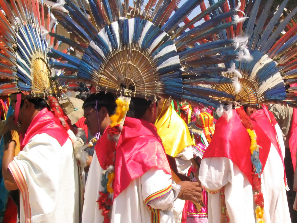 Festival of San Juan, Bolivia. Latin America is a cultural fusion of Amerindian, African and European  traditions.
