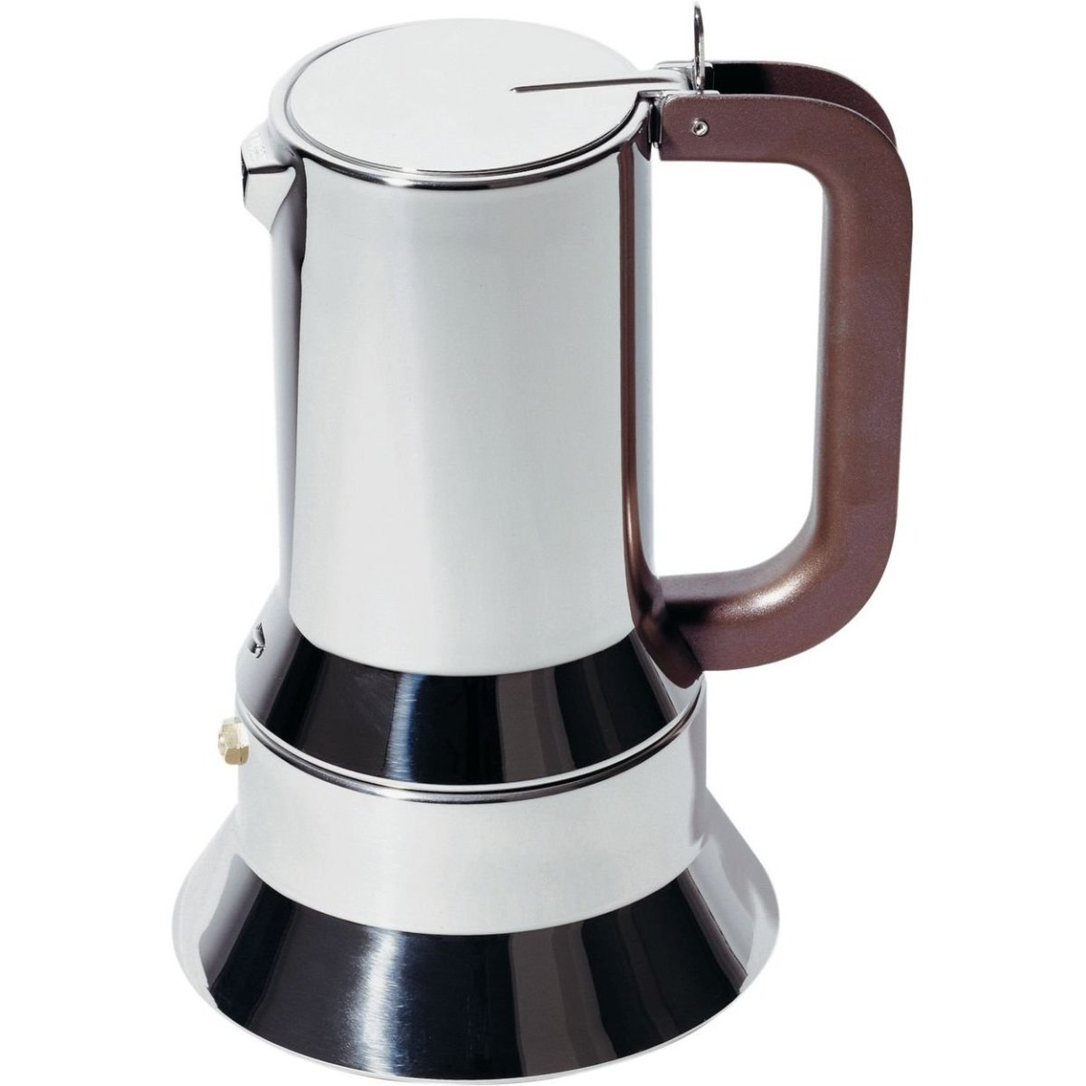 Stainless steel stovetop espresso maker 10 cup - Stainless Steel Stovetop Espresso Maker 10 Cup 1