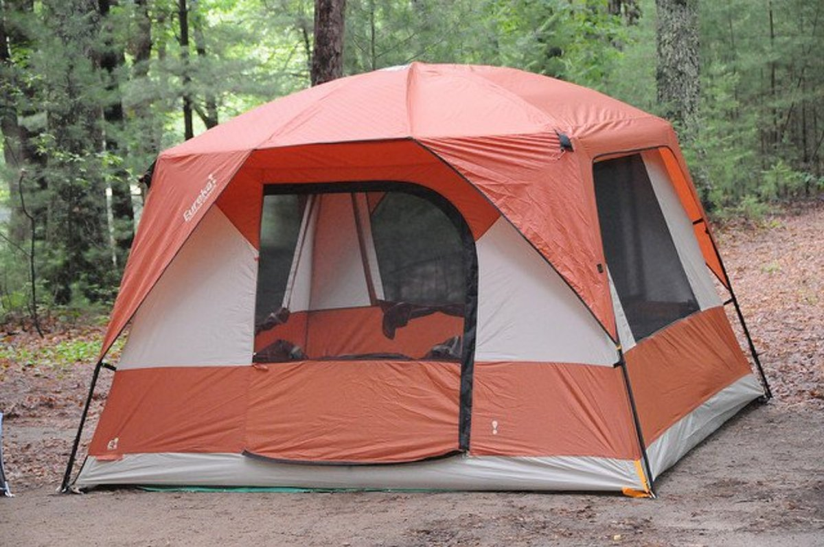 Choose a tent larger than you think you need.