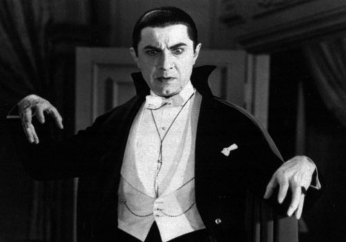 Dracula inspired many films - the vampire count is the most filmed character in the world after Sherlock Holmes.