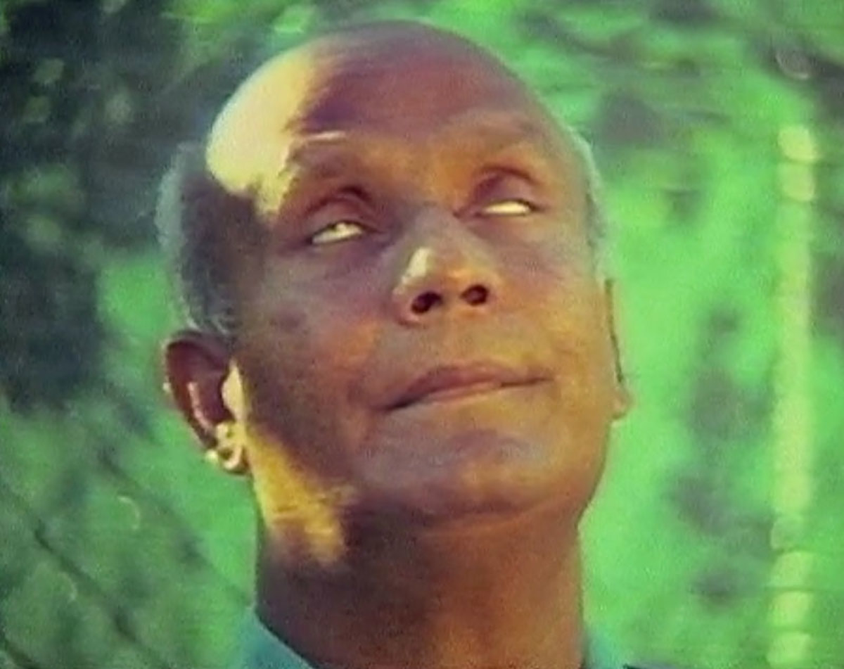 Sri Chinmoy in contemplation