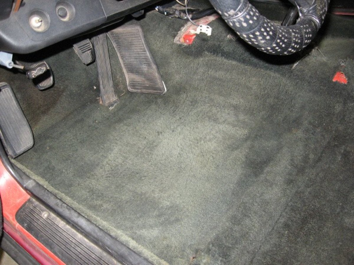 How to dye car carpet