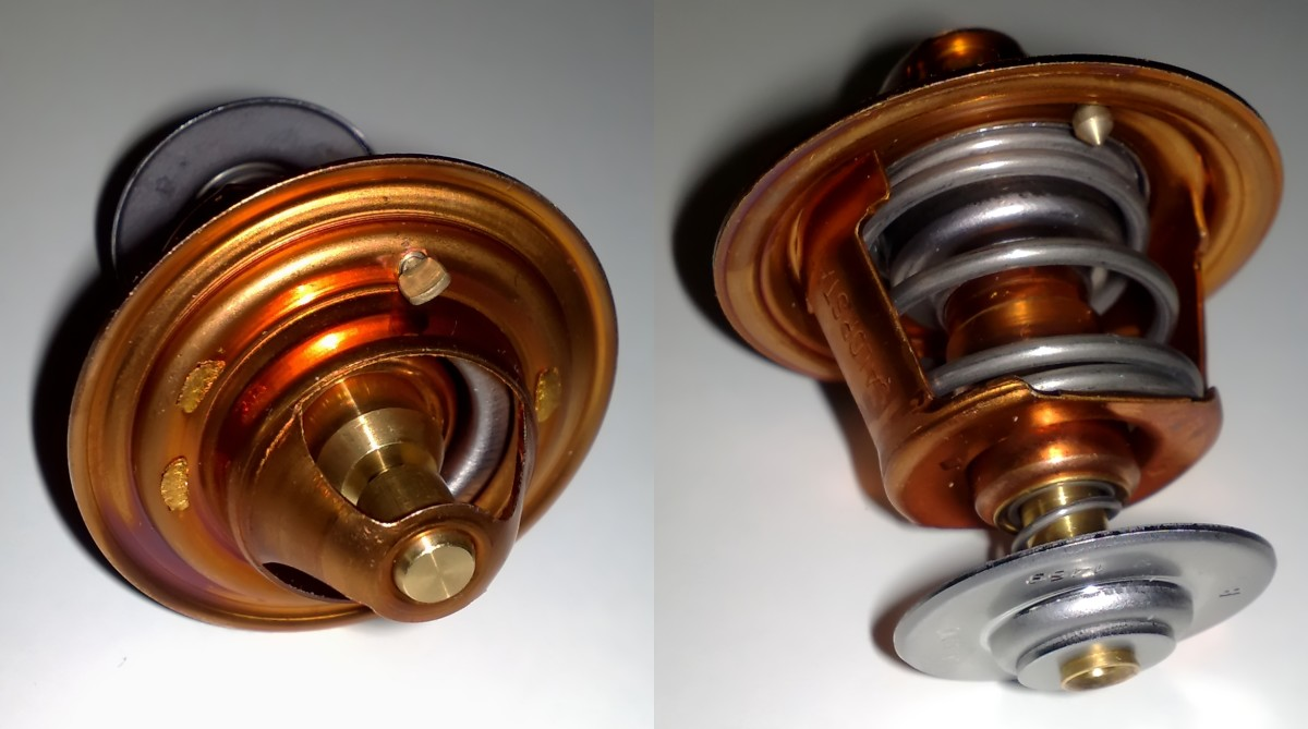 Thermostat, that fits in Toyota A, E, S and C engines.